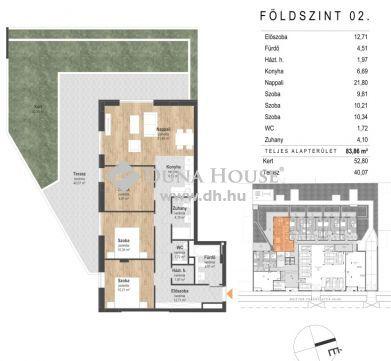 Eladó Lakás, Budapest - ***Reitter Green Home! Költözésre kész újépítésű lakások a 13. kerületben!***