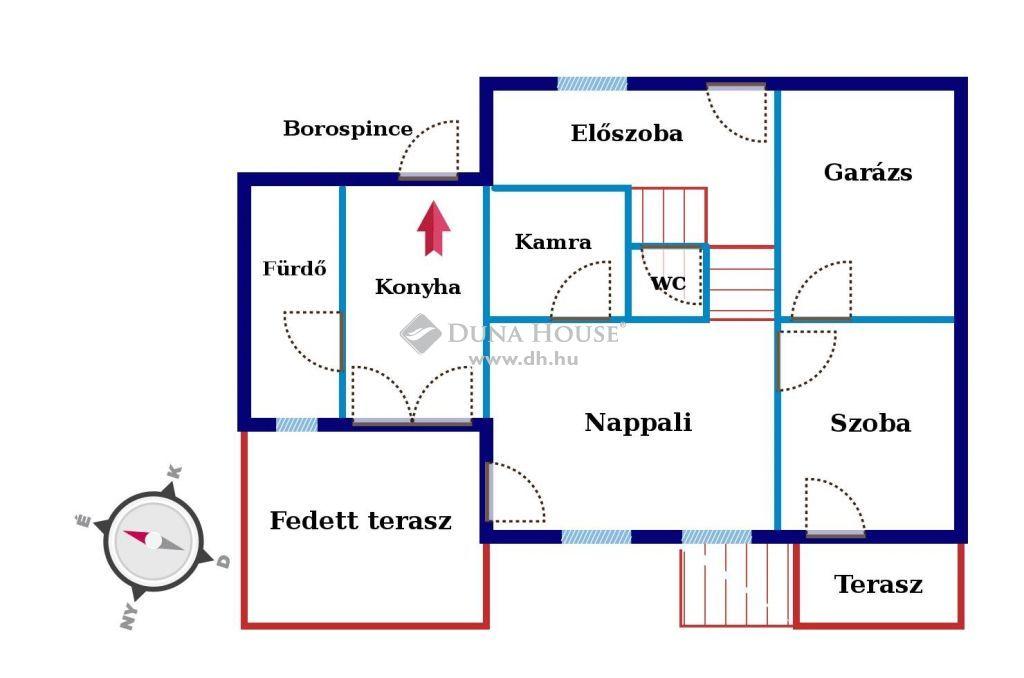 Eladó Ház, Veszprém megye, Balatonfüred - Balatonfüred, panorámás domboldalon