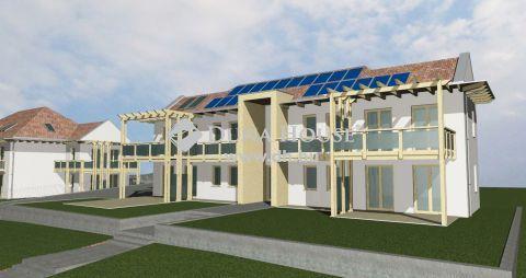 Új építésű 4 lakásos társasház Balatonakalin